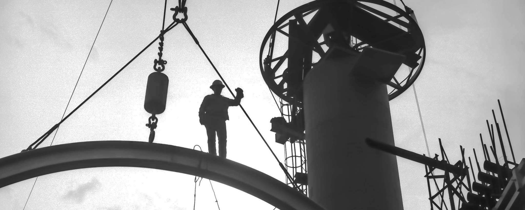 Plant construction worker