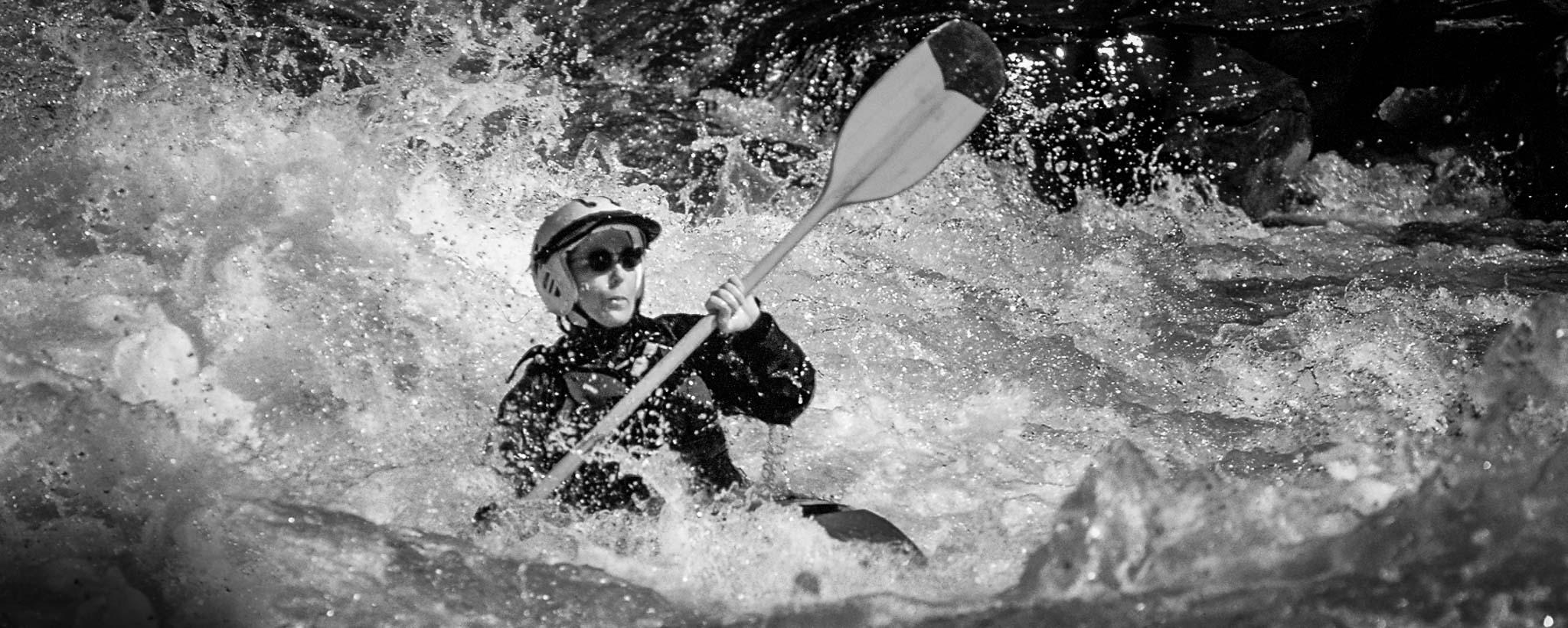 Olympic kayaker