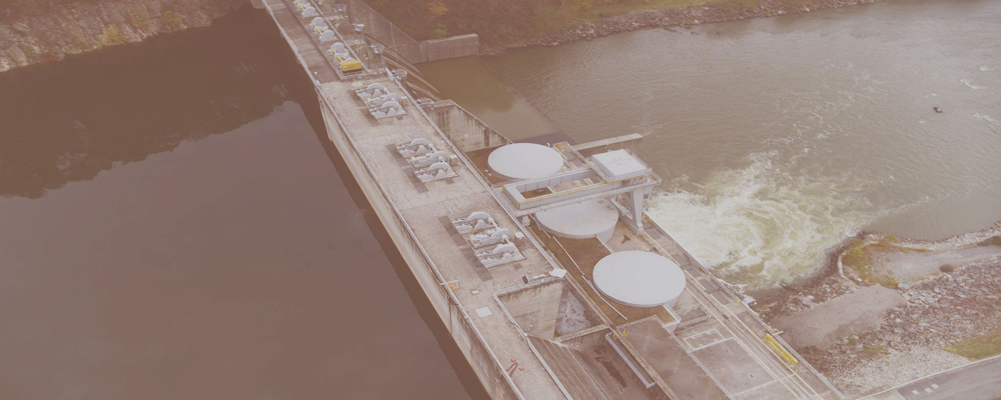 Boone Dam drone AERIAL