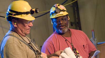 two men hard hats
