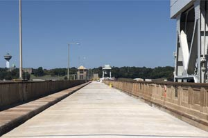 complete construction on Wilson Dam bridge